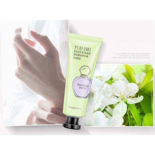 Крем для рук увляжняющий с жасмином IMAGES Perfume Hand Cream зеленый
