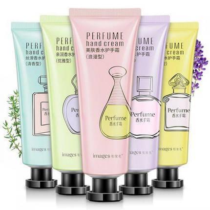 Крем для рук увляжняющий с жасмином IMAGES Perfume Hand Cream зеленый, фото 2