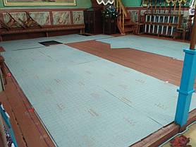 Монтаж теплої підлоги у церкві с.Тулова (Снятинський р-н) 7