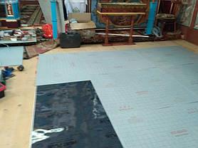 Монтаж теплої підлоги у церкві с.Тулова (Снятинський р-н) 9