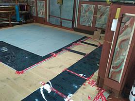 Монтаж теплої підлоги у церкві с.Тулова (Снятинський р-н) 8