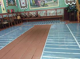 Монтаж теплої підлоги у церкві с.Тулова (Снятинський р-н) 5
