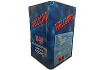 Wellbond W-34 клей наирит для напольных покрытий, автомобильной обивки.