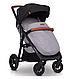 Модная прогулочная коляска для ребенка EasyGo Quantum air 2019, фото 6