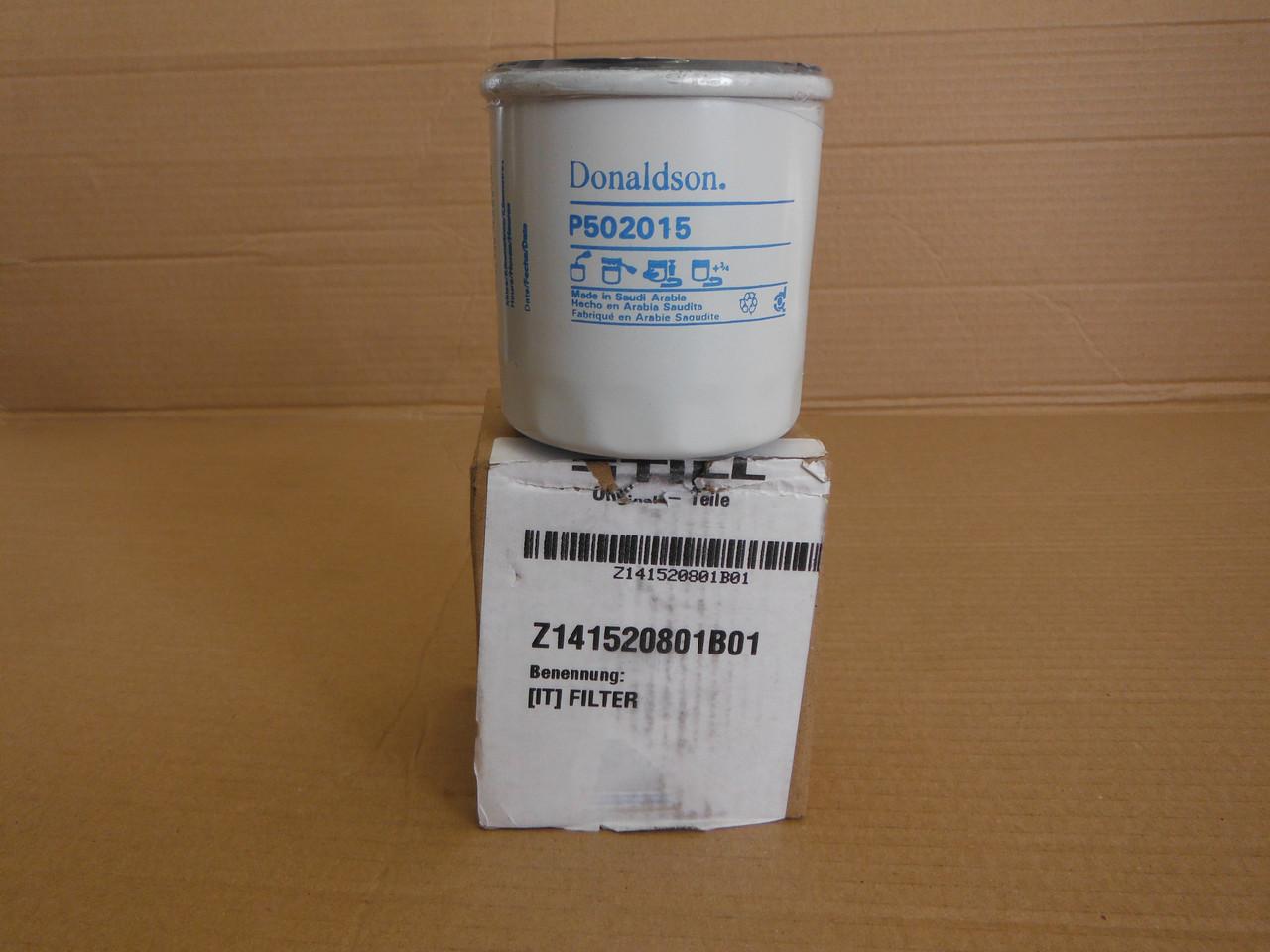 STILL 141520801B01 Donaldson P502015 фильтр масляный / фільтр оливний
