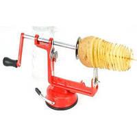 Машинка для спиральной нарезки картофеля Spiral Potato Slicer