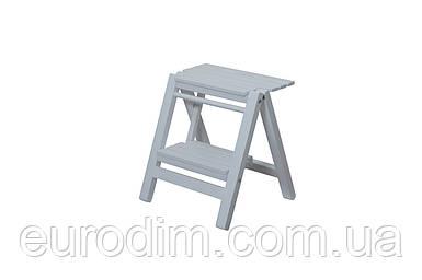 Лестница маленькая белая