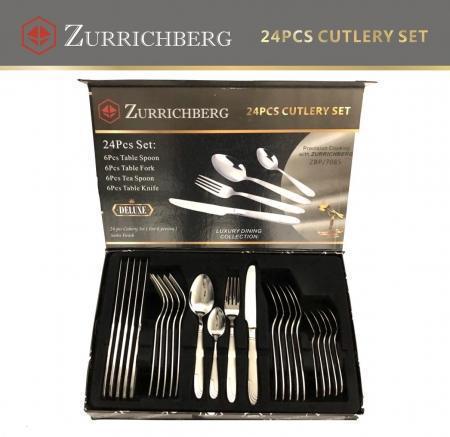 Набор столовых приборов Zurrichberg из 24 предмета ZBP 7085 качественный столовый набор фраже