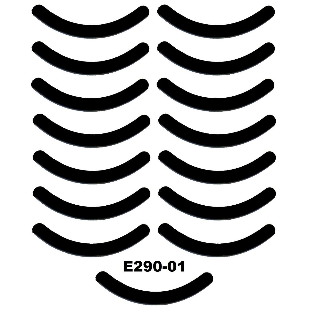 Сменные резинки в щипцы для завивки ресниц (15 видов)