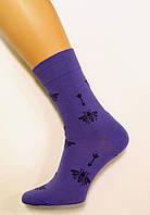 Шкарпетки бавовняні преміум класу з бджілками для чоловіків