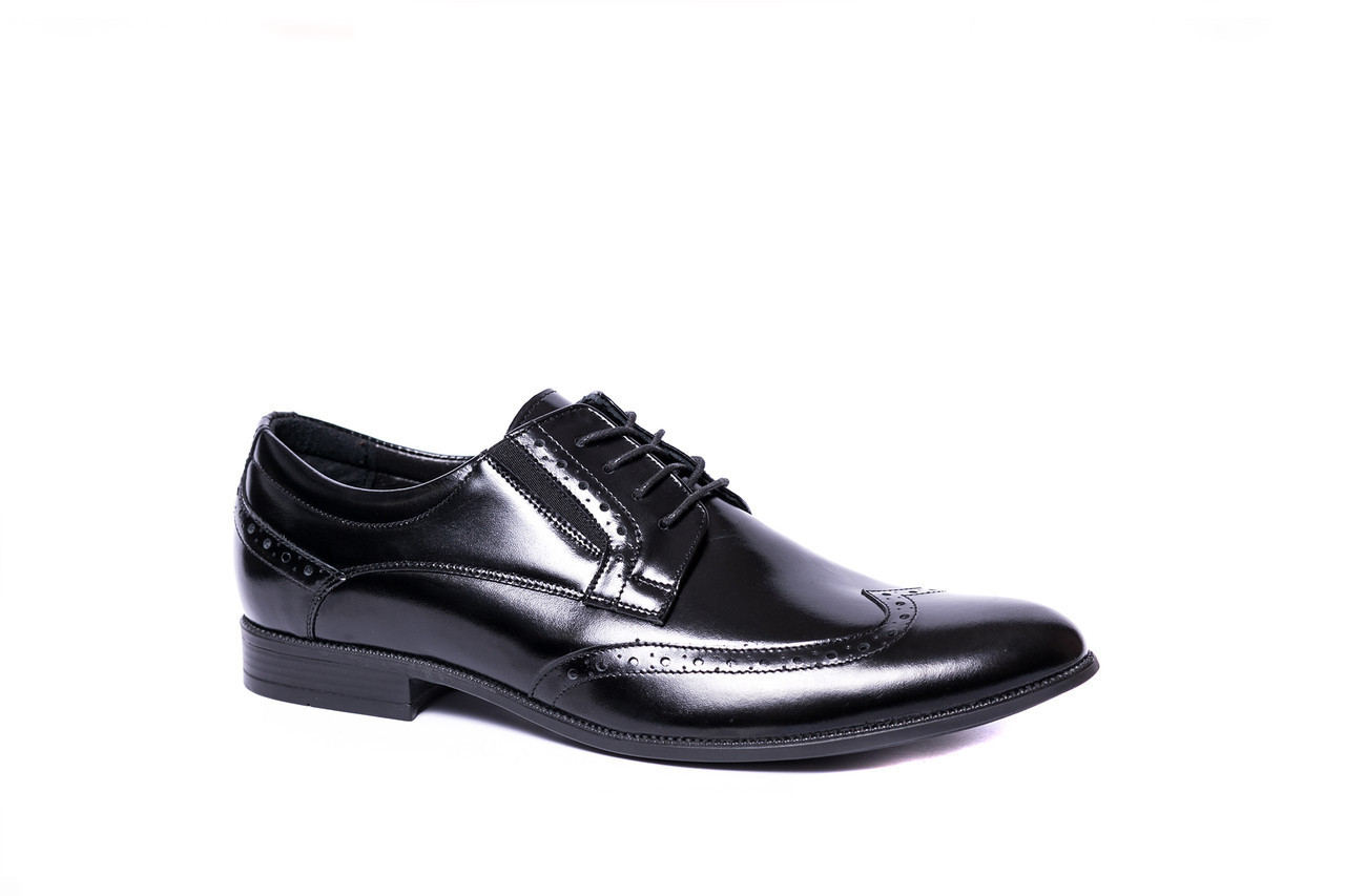b5b5e21db Мужские Туфли дерби черные Tapi из натуральной кожи - Интернет-магазин  Trand Market в Одессе