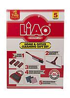 Универсальный набор для уборки 5 предметов Liao 28х39см Красный