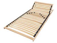 L13-900009_01, Каркас для кровати с ламелями (90*200), , бежевый-черный