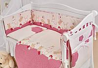 Детская постель Twins Comfort New Горошки 7 эл , фото 1
