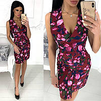 Женское стильное платье с открытой спиной, фото 1