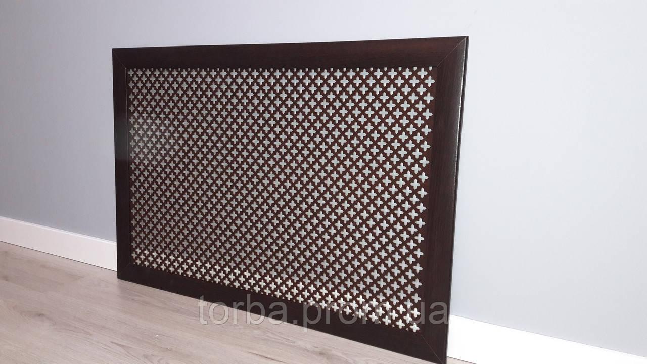 Экран для радиатора Каппа Венге 120*60см