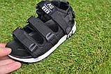 Детские босоножки на мальчика адидас Adidas черные р27-32, копия, фото 3