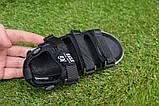 Детские босоножки на мальчика адидас Adidas черные р27-32, копия, фото 5