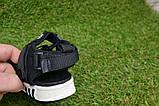 Детские босоножки на мальчика адидас Adidas черные р27-32, копия, фото 7