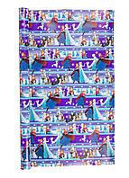 """Подарочная упаковка """"Холодное сердце"""" Disney 70х1000см Фиолетовый, Голубой, Белый"""