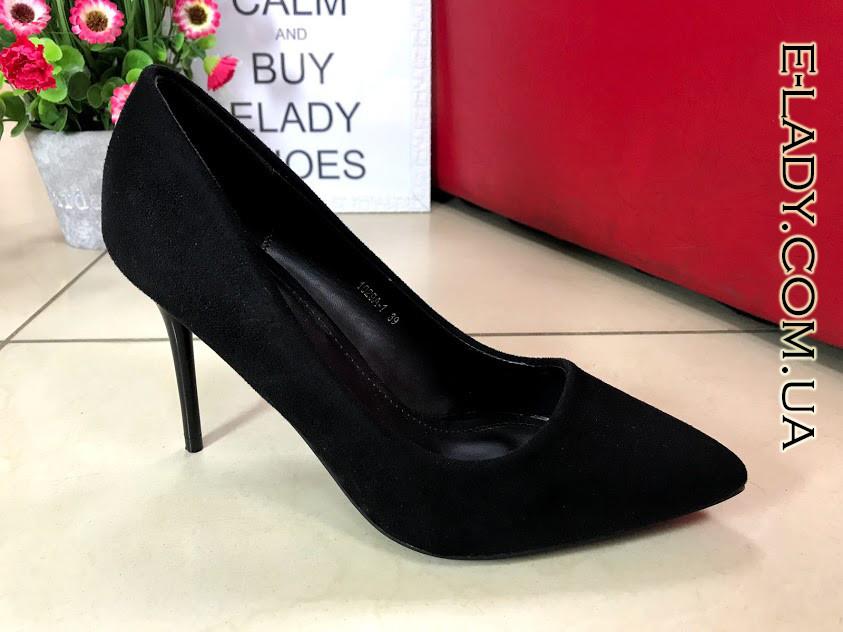 db77ee5b5 Черные замшевые туфли лодочки на шпильке: продажа, цена в Николаеве ...