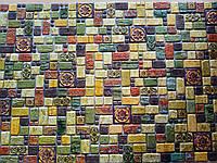 """Панелі ПВХ """"Травертин лайм"""" 0,4мм (955*488 мм), фото 1"""