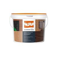 Aura Colorwood Aqua 9 л защитный состав с антисептиком для дерева Кипарис арт. 6430011069187