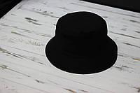 Мужская черная панама