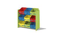M7-110118, Детский стеллаж для хранения вещей, , разноцветный