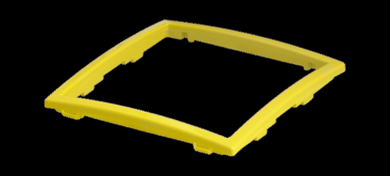 Рамка декоративная желтый металлик MARSHEL Элегант