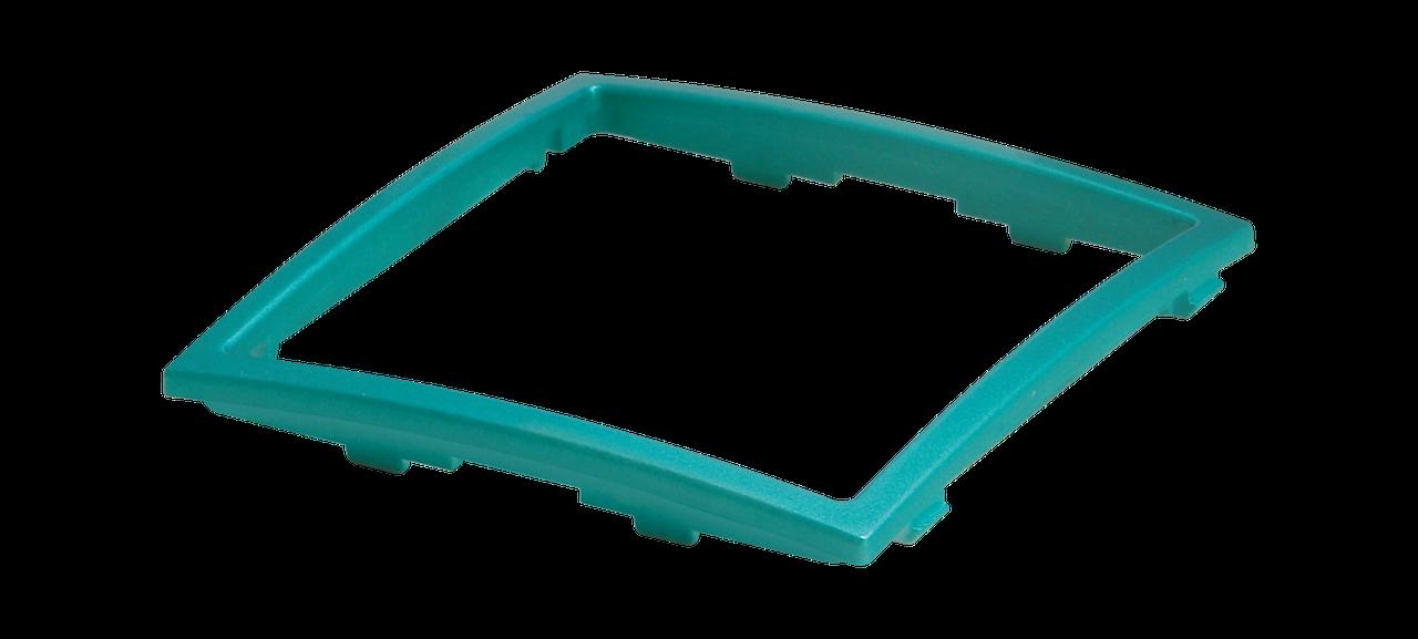 Рамка декоративная зеленый металлик MARSHEL Элегант