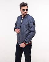 Стильная куртка мужская -бомбер череп, фото 1