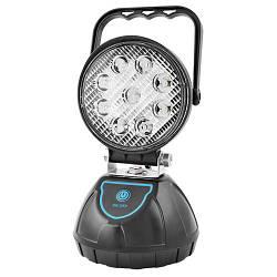 Прожектор светодиодный WJ004-1-9XPE + мигалка, 4x18650