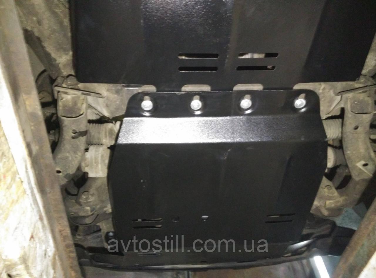 Защита радиатора и двигателя Volkswagen Amarok   сверху пыльника на Амарок
