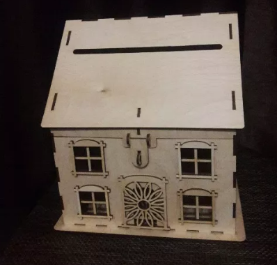 Будиночок скарбничка, казна для весілля або ювілею