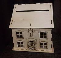 Будиночок скарбничка, казна для весілля або ювілею, фото 1