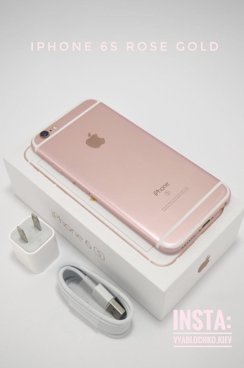 Apple iPhone 6s 32Gb Rose Gold (Б/у)