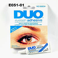 E051 Клей для накладных ресниц DUO 9 грамм Белый