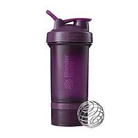 Blender Bottle, Спортивный шейкер BlenderBottle ProStak Plum, 650 мл, фото 1