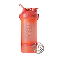 Blender Bottle, Спортивный шейкер BlenderBottle ProStak Coral, 650 мл, фото 1