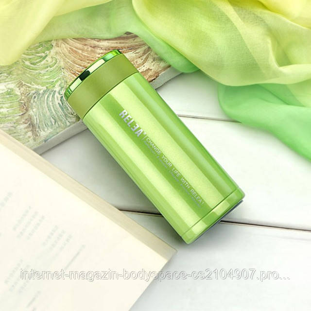 Relea, Термос-чашка Relea Elegance 320 мл Салатовый