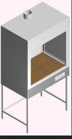 Шкаф вытяжной для муфельных печей ШВ-МП