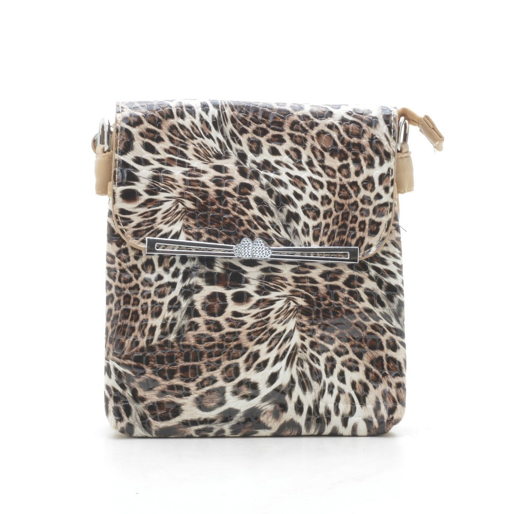 f14a2ffa4668 Сумка кросс-боди лаковая леопардовая - Интернет-магазин сумок Zirael в Киеве
