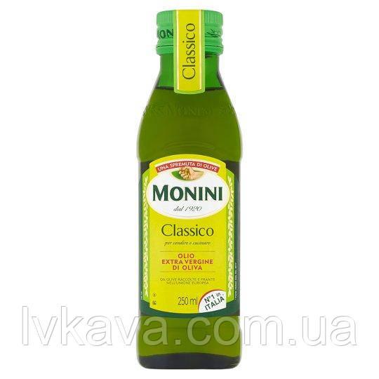 Оливковое масло  Monini Classico Extra Vergine  , 250 мл