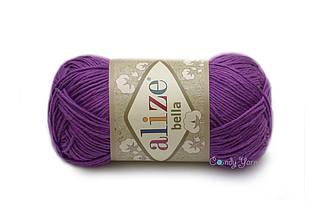 Alize Bella, темно-фиолетовый №45
