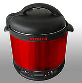 Мультиварка - скороварка VITALEX VL-5203 М Red