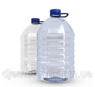 Пластиковые бутли 5л. Цена за упаковку 36 шт.