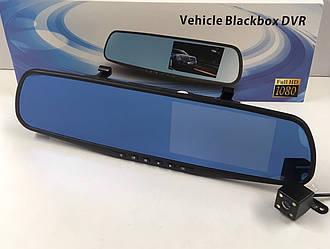 Зеркало-видеорегистратор Vehicle Blackbox DVR Full HD + камера заднего вида