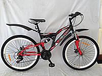 Двухамортизационный дисковый велосипед AVALON  Adrenalin