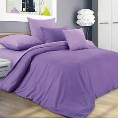Полуторные комплекты однотонного постельного белья